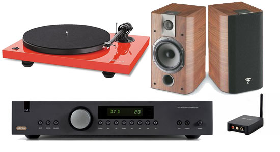 arcam focal home audio system